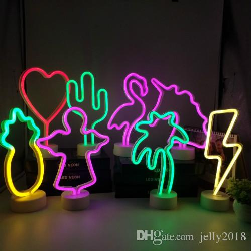 LED Neon Dropshipping 2019 art enseigne au néon Lounge Paradise Parrot Neon signe ampoule tubes artisanats véritable verre de bière pub décorer les fenêtres Bar