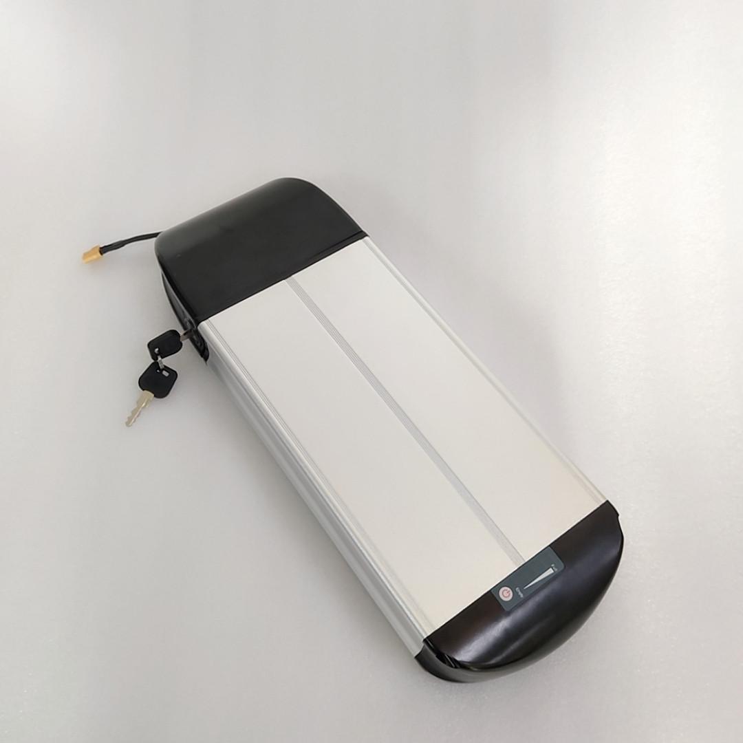 ebike 핫 판매 18650 배터리는 36V 공칭 전압 및 소형 후방 랙 36V 13ah 리튬 이온 전지