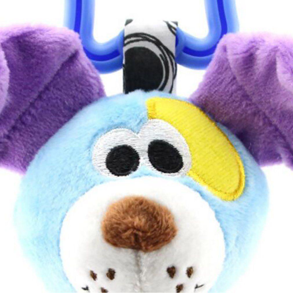 Hayvan El tut Çıngırak Yavru Aslan Fil Asma Bebek Arabası kolye Konfor Oyuncak 0-1 Yaşındaki Araba Asma Yatak