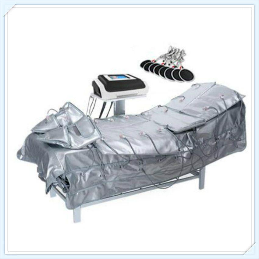 공장 가격 !!! 최고의 판매 적외선 Pressotherapy 전기 Pressotherapy 해독 림프 배수 마사지 아름다움 기계