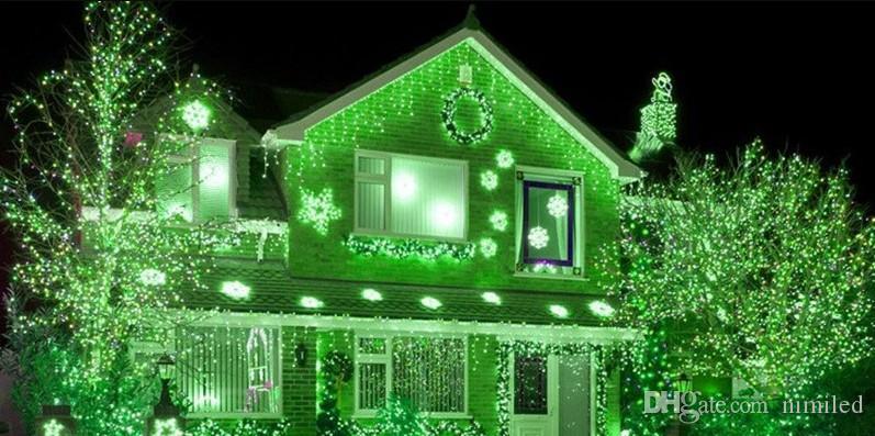 6M x sincelo 3M 600 LED Luz do casamento do Natal Luz LED de Cordas Fada Light Bulb Garden Curtain Decor 3x1.5M 144 LED / 3x3m 300LED LLFA