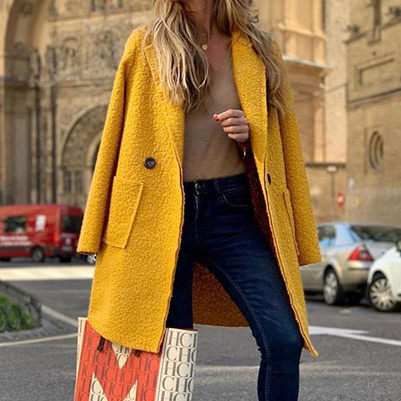 Automne Hiver 2019 Femme Veste Lady Femmes chaud Faux Splice manteau Zipper Veste d'extérieur élégant Pardessus # 924