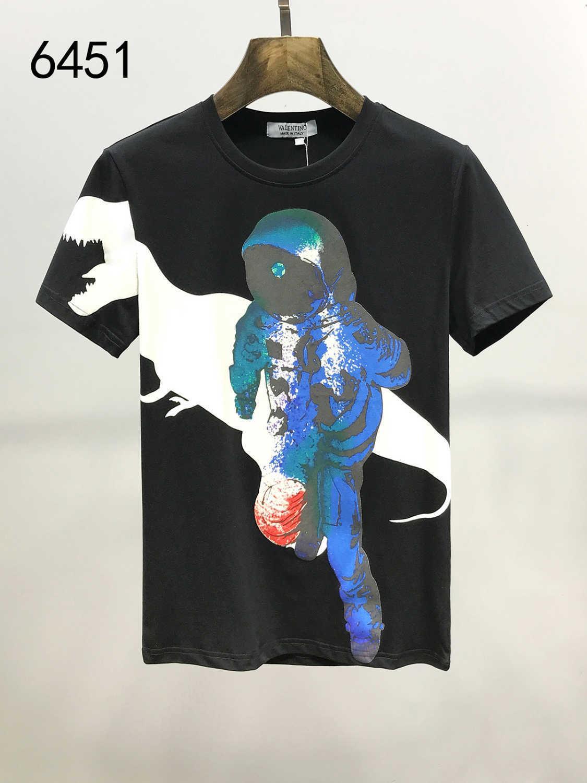 2020 лето быстрое высыхание новый шаблон мужская с коротким рукавом футболки чистый цвет молодой прилив одежда мода футболки для мужчин футболки 11292