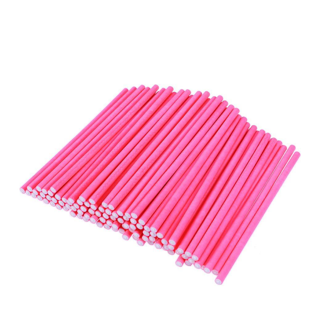 100pcs Eco Friendly Disposable Paper Cardboard Cake Sticks for Lollipop Chocolate Cake Fruit A30