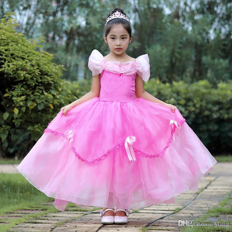 Fato do tema do Dia das Bruxas Saia de vestido infantil Crianças Jogar Stage Performance Shays 4 cores 100 a 150cm
