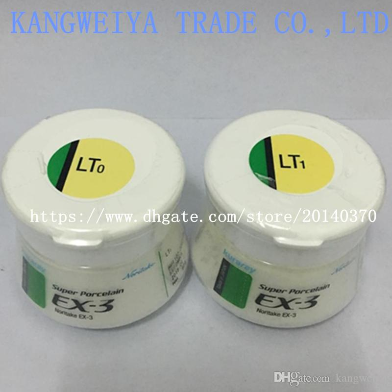 Dental denture lab laboratory material Noritake EX-3 porcelain powder ex3 luster LT0/LT1 genuine original ceramics 50g