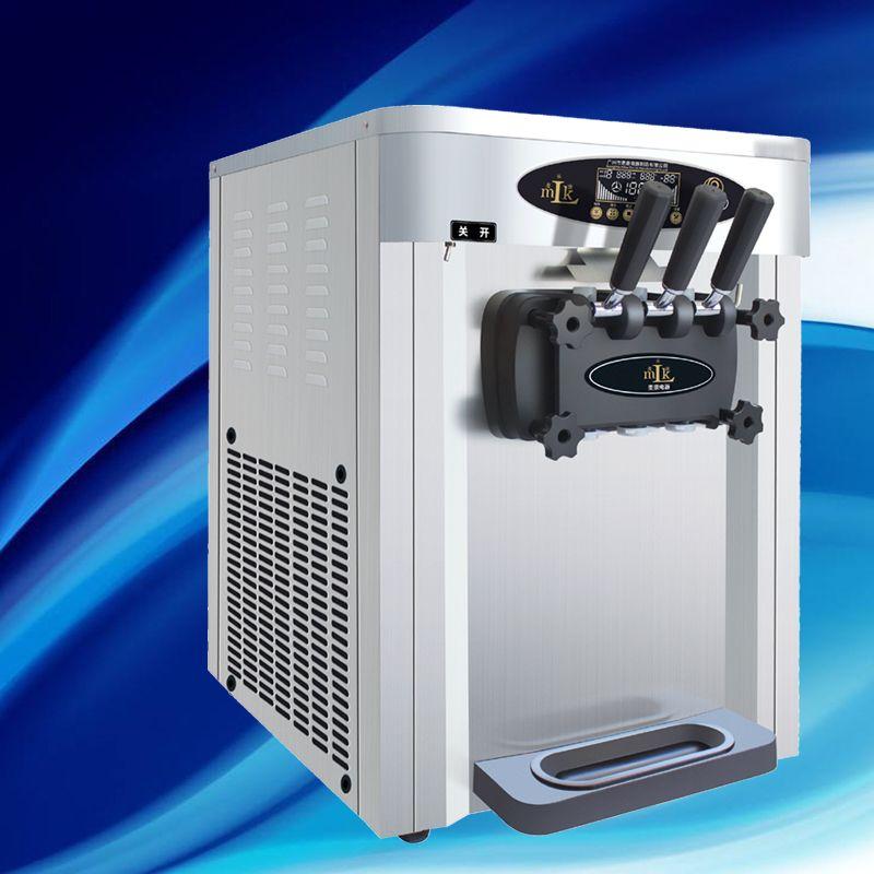 Popular en Asia máquina de helado suave / El mejor precio de la máquina de helados batidor con certificado CE