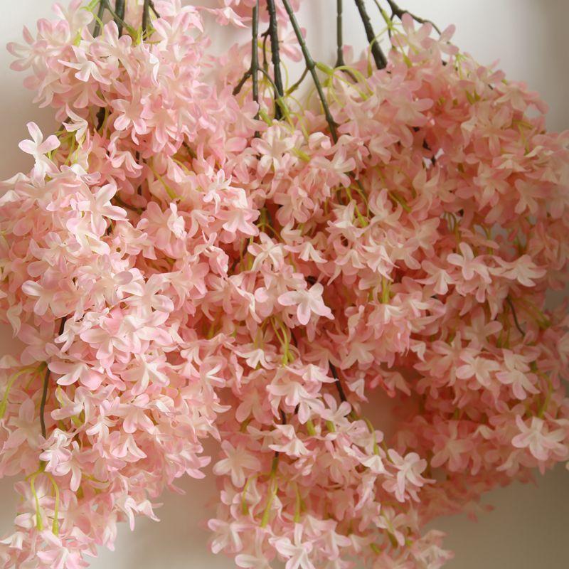 2020 95cm Cherry Blossom Artificial Flower Home Decoration Sakura