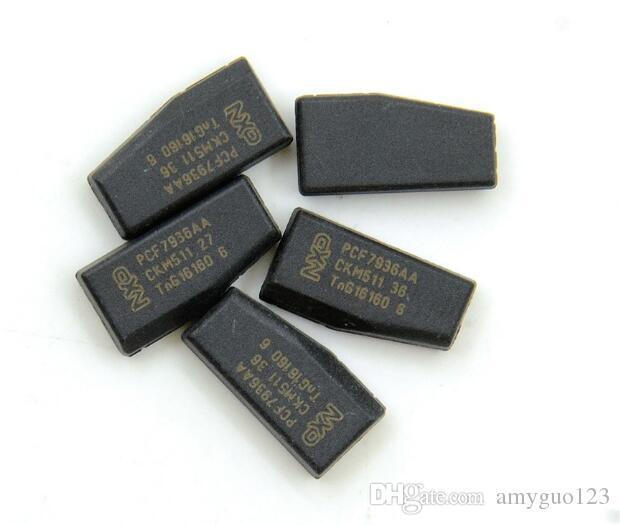En iyi kalite oem PCF7936AA çip (PCF7936AS güncellenmiş sürümü) (TP12) ID46 Boş transponder cips boş KIMLIK 46 ücretsiz kargo
