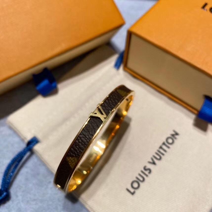 Diseño de marca manera de las pulseras de la Ronda de pulseras de cuero genuino con la bolsa de oro para las mujeres y los hombres Impresión de la flor pulsera BB019 joyería