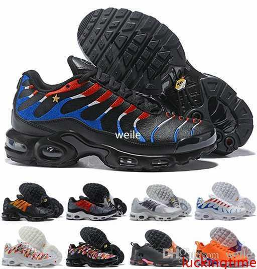 Copa do Mundo Novo Mercurial Tn Além disso SE 2 International Flag France Running Shoes Tns das mulheres dos homens NIC QS Air Sports Sapatilhas Chaussures