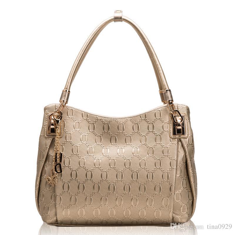 Luxury women designer handbags purses high quality genuine leather brand fashion tote shoulder bags for women