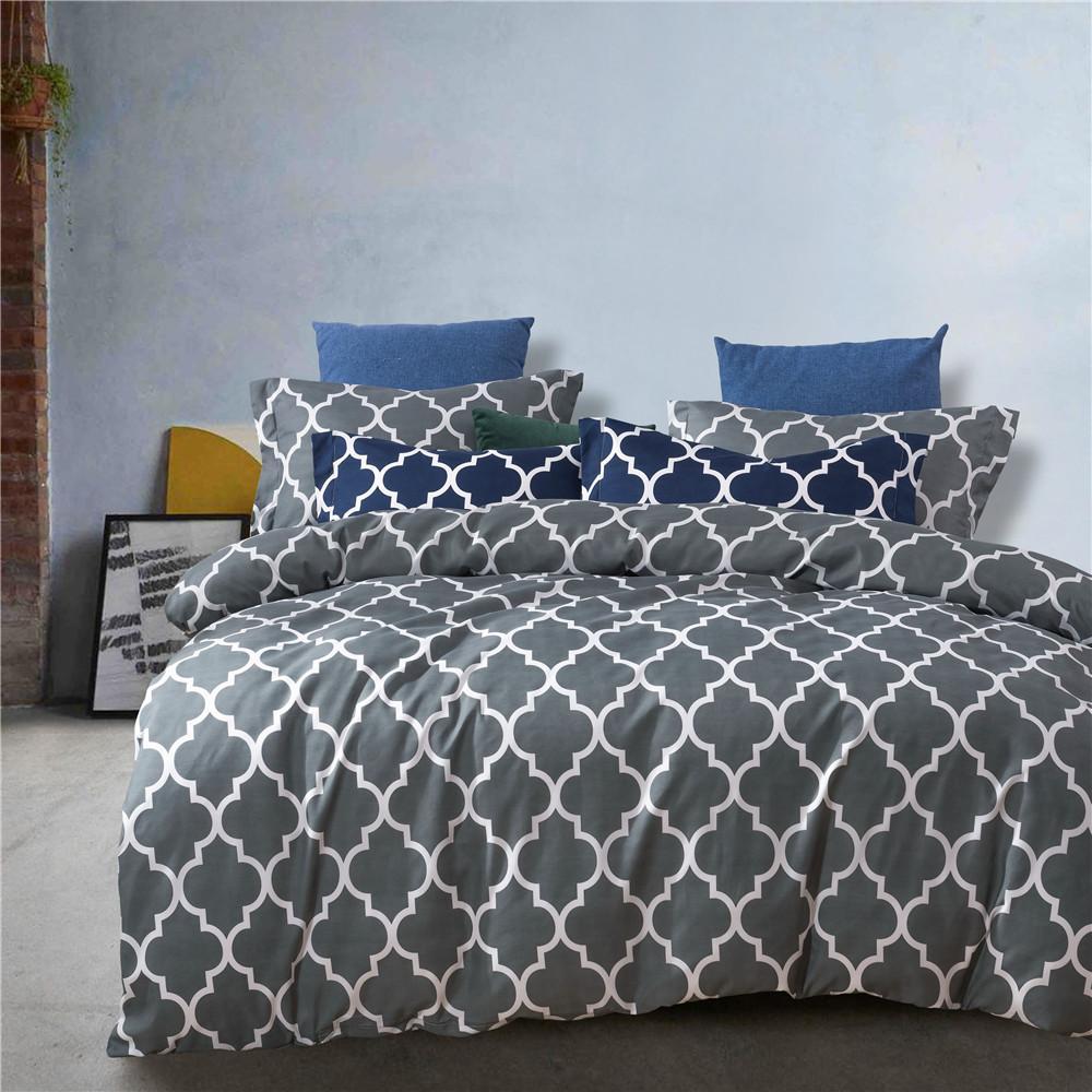 SC001A 디자이너 침대 이불은 킹 사이즈를 Pillowcas Beding 하우스를 설정 패션 대 시트를 설정합니다