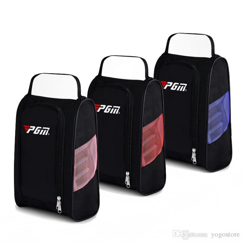 Golf Topu Çanta Kullanışlı Ayakkabı Paketi Nefes Su Geçirmez Wrap Naylon Malzeme Yırtılma Direnci Karşıtı Giyim Siyah K1