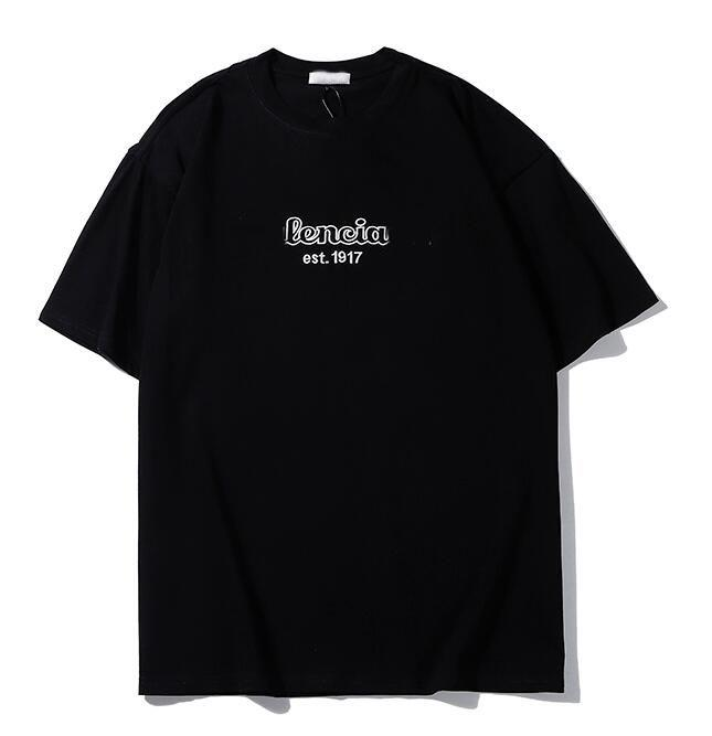 Designer shirt Hot Mens Lettera Donne Uomini Stampa manica corta Top Mens Designer Casual girocollo Tees lusso