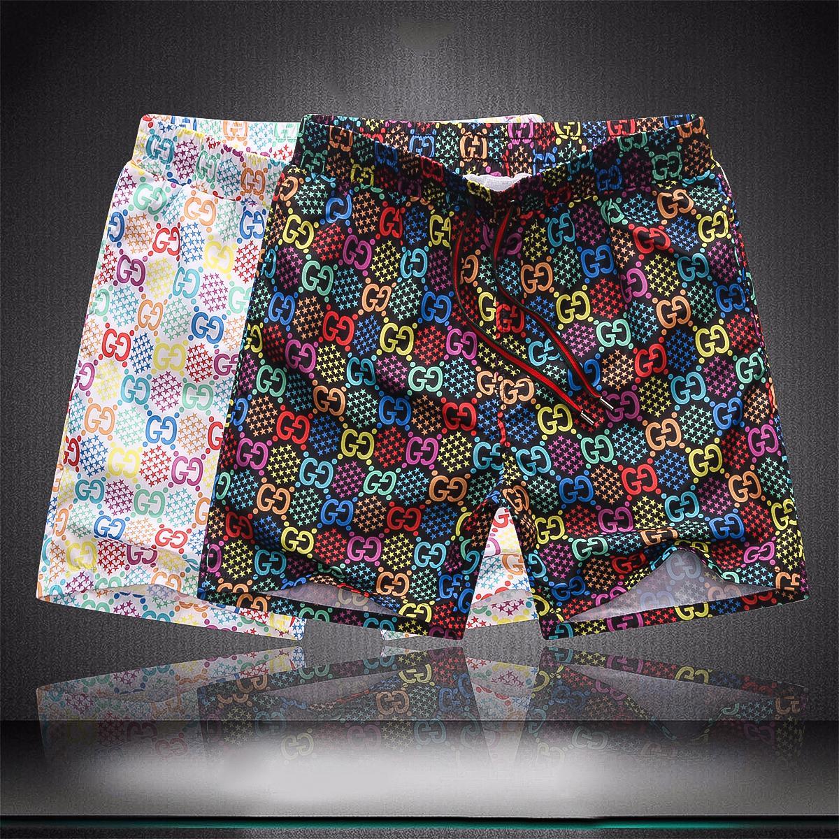 20ss 여름 고급 반바지 새로운 디자이너 보드 짧은 빠른 건조 수영복 인쇄 보드 비치 바지 남성 남성 수영 반바지 Q8