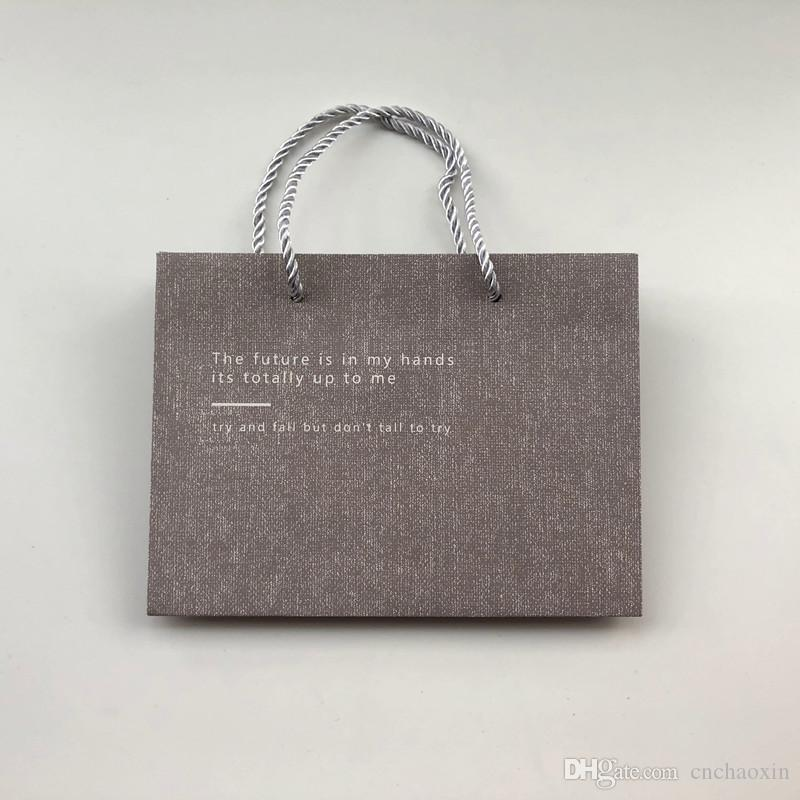 Wholesale High Quality Paper Gift Bag With Handle Festival Jewelry Wedding Party Recyclable Bags Birthday Supplies