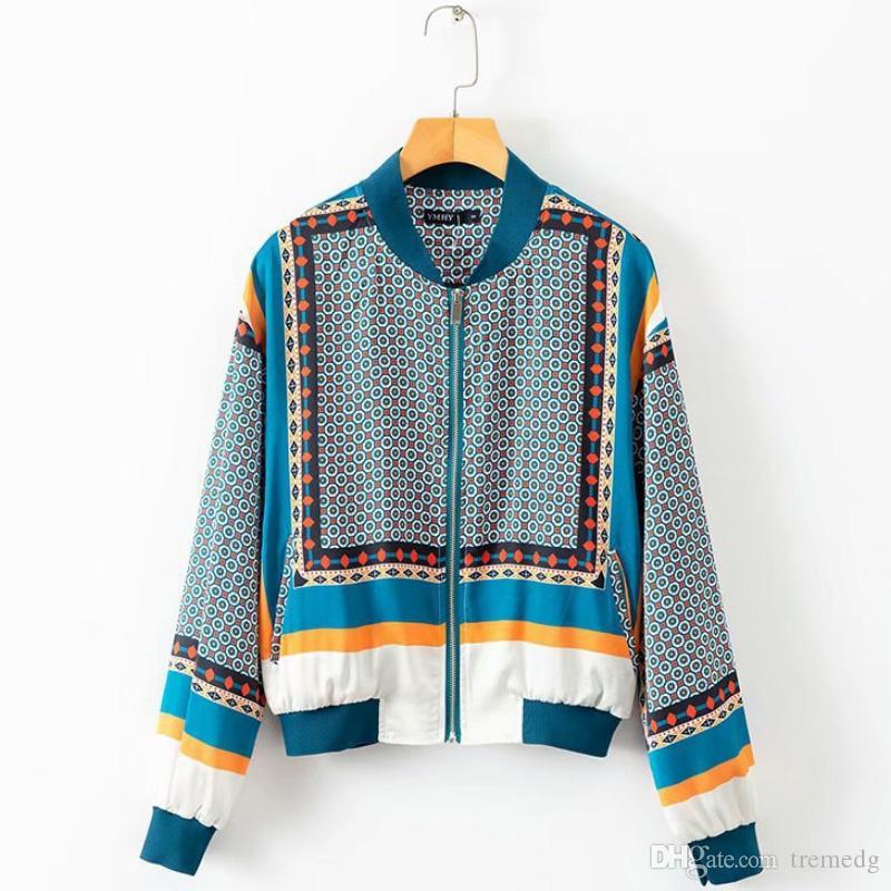 Kış Kadın Ceket Katı liva kız 2019 nakış ceketin bir kadın Harajuku Pilot ceket ceket temel beyzbol jacke baskı 2018 gündelik