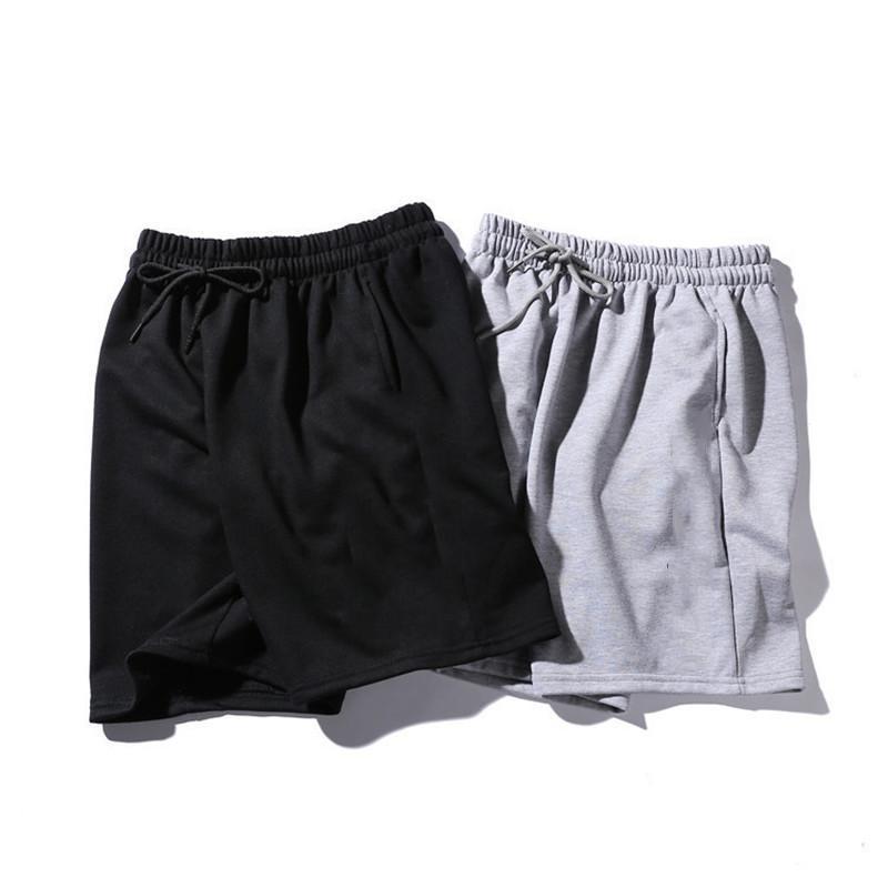 2020 Patrón pantalones cortos para hombre del verano del estilo Pantalones cortos para hombre Impreso sólido ocasional pantalones cortos de color deporte de la manera Pantalones cortos Joggers