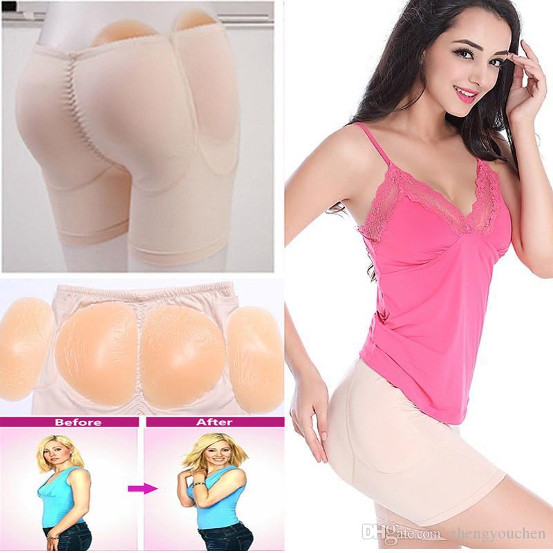 Women Ass Padded Shaping Panties Butt Lifter Body Shaper Hip Enhancer Underwear Waist Tummy Control Panty Booty Pads Briefs