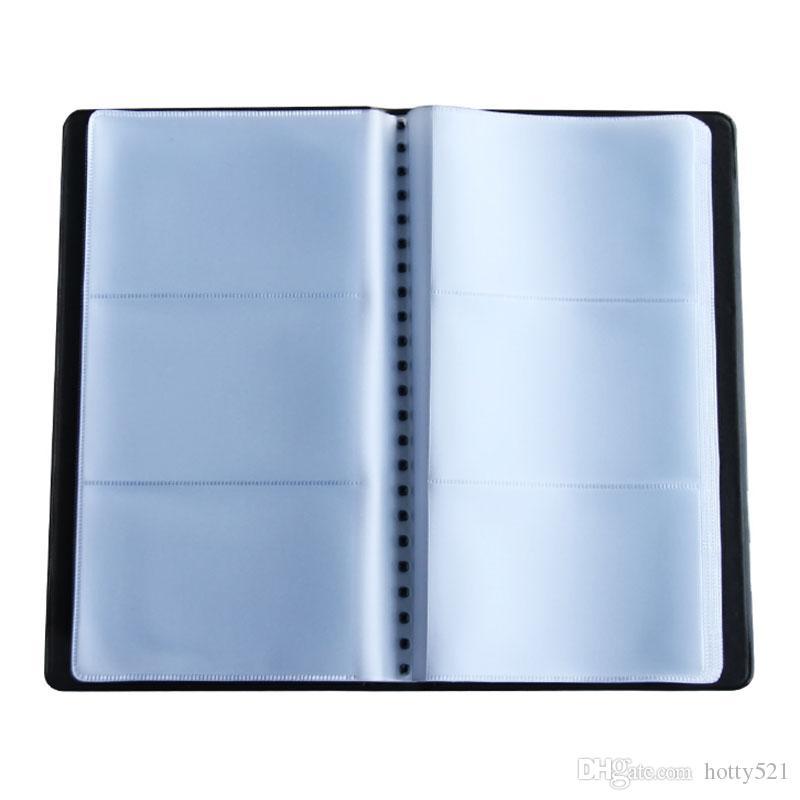 180 ورقة اسم مكتب معرف البنك بطاقة الائتمان حامل كتاب القضية بطاقات الأعمال ملفات شحن مجاني