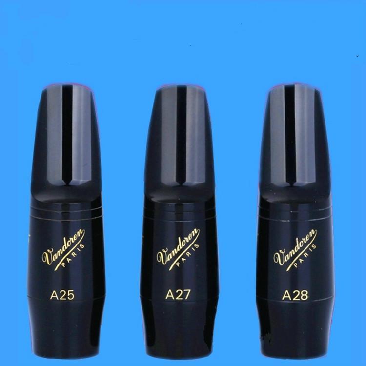 새로운 Vandoren V5 시리즈 A25 A27 A28 알토 색소폰 베이클라이트 마우스 피스 클래식 음악 색소폰 악세서리 무료 배송
