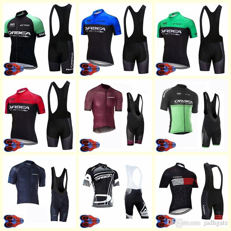 2020 ORBEA team Cycling Short Sleumps jersey shorts set Men Dyches MTB Bicycle Wear Quick dry U20042005