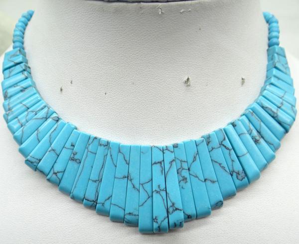 pierre naturelle cristal de quartz Turquoises oeil de tigre aventurine Pendentif lapis pour collier fabrication de bijoux Accessoires de bricolage p1