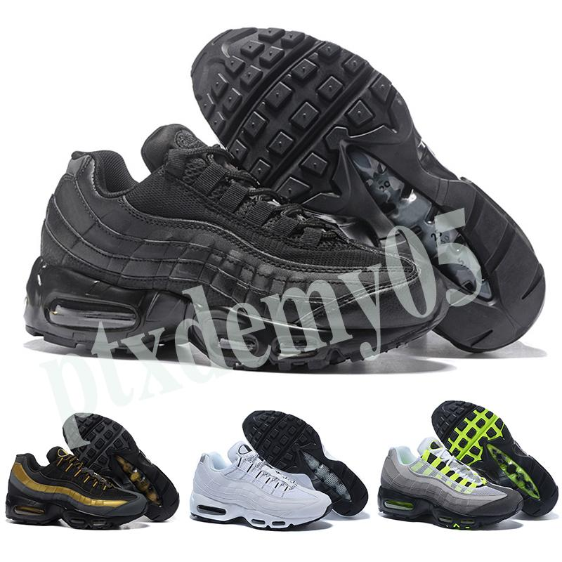 Nike Air Max 95 2018 chaussures New Mens Womens Classic Black Red White Sports Trainer Surface Cushion Breathable Sports Sneakers 36-46 p05