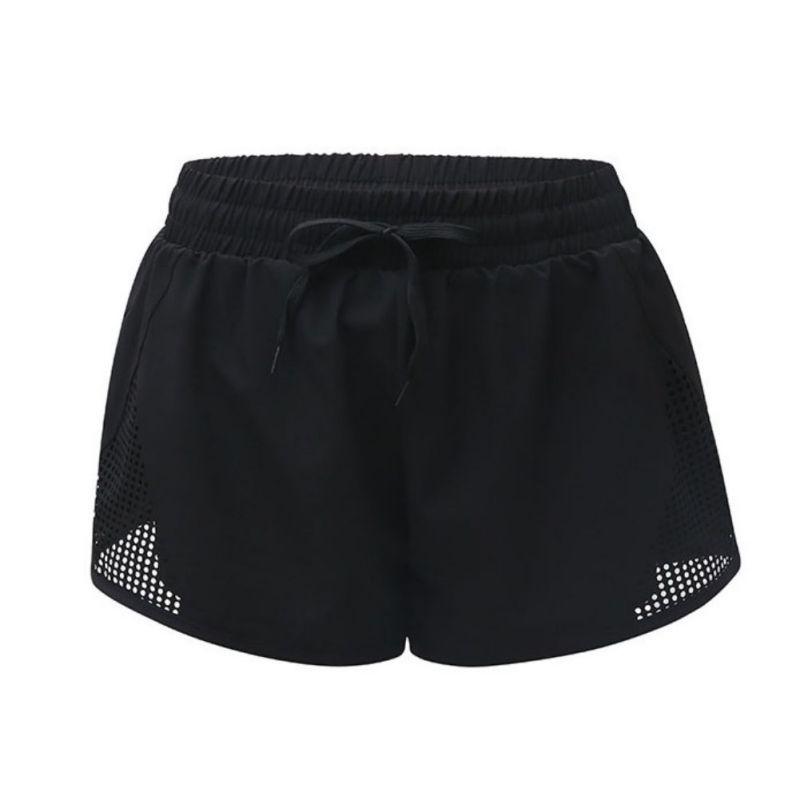 De secagem rápida solto fitness Calças de Verão Esportes de Fitness Shorts Mulheres Novas