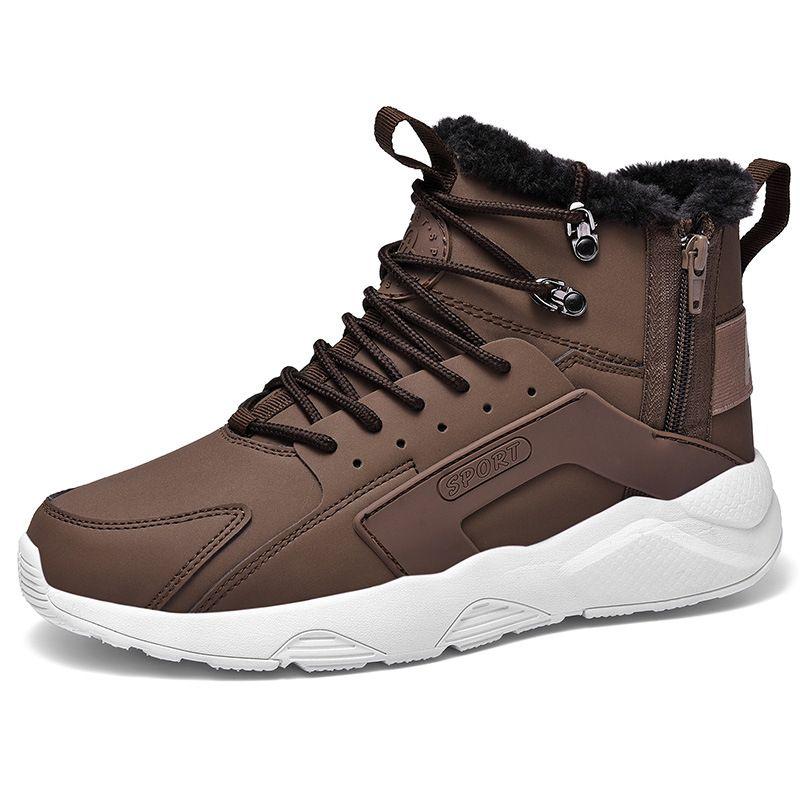 High Top-Mode-Männer Schuhe Winter-großer verdickte Sport Freizeit-Baumwollschuh Individuelle Rundum-Schuhe der Männer im Freien