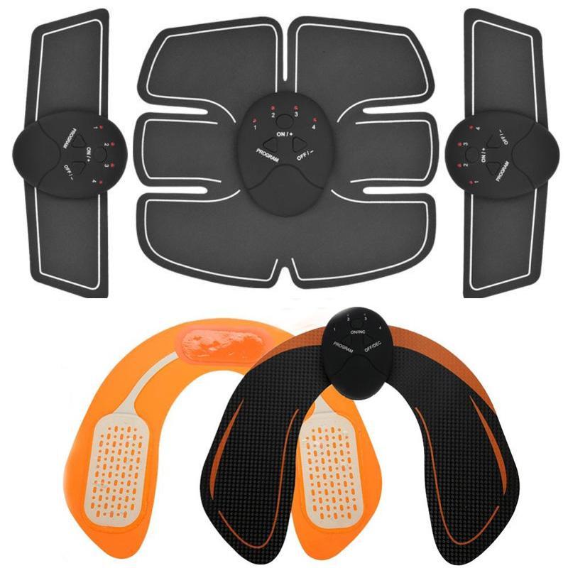 العضلات الذكية EMS الوركين المدرب الكهربائية تحفيز اللاسلكية الأرداف البطن ABS محفز للياقة البدنية الجسم التخسيس مدلك