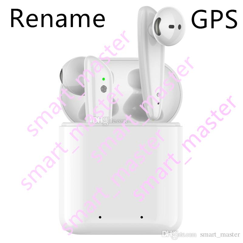 Nouvelle puce H1 TWS Pop up AP3 pro Ecouteur Rename GPS Top qualité sonore de charge sans fil Bluetooth écouteurs basse écouteurs pods capteur intelligent