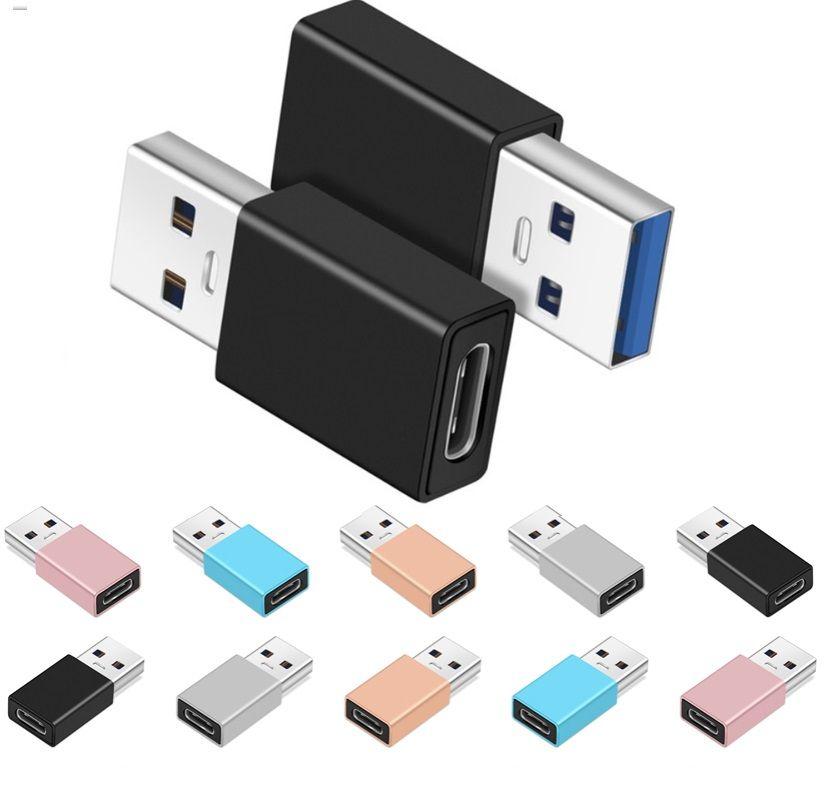 Typ c weiblich an USB 3.0 männlich vergoldete Kabel Anschlusskonverter Adapter für Smartphone