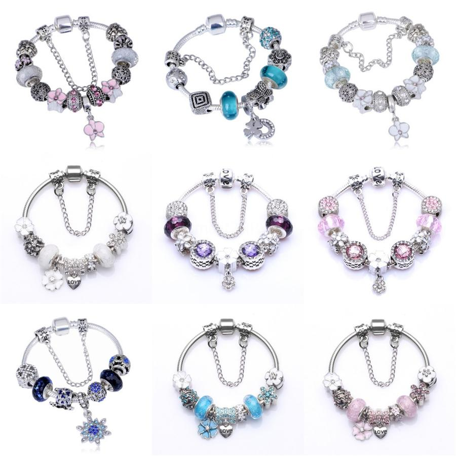 Memnon Jewery Original 925 Sterling Alloy Beads Pave Blue Cz Slipper Charms High Heel Shoe Charm Pendants For Women Bracelets Diy Dsn014#231