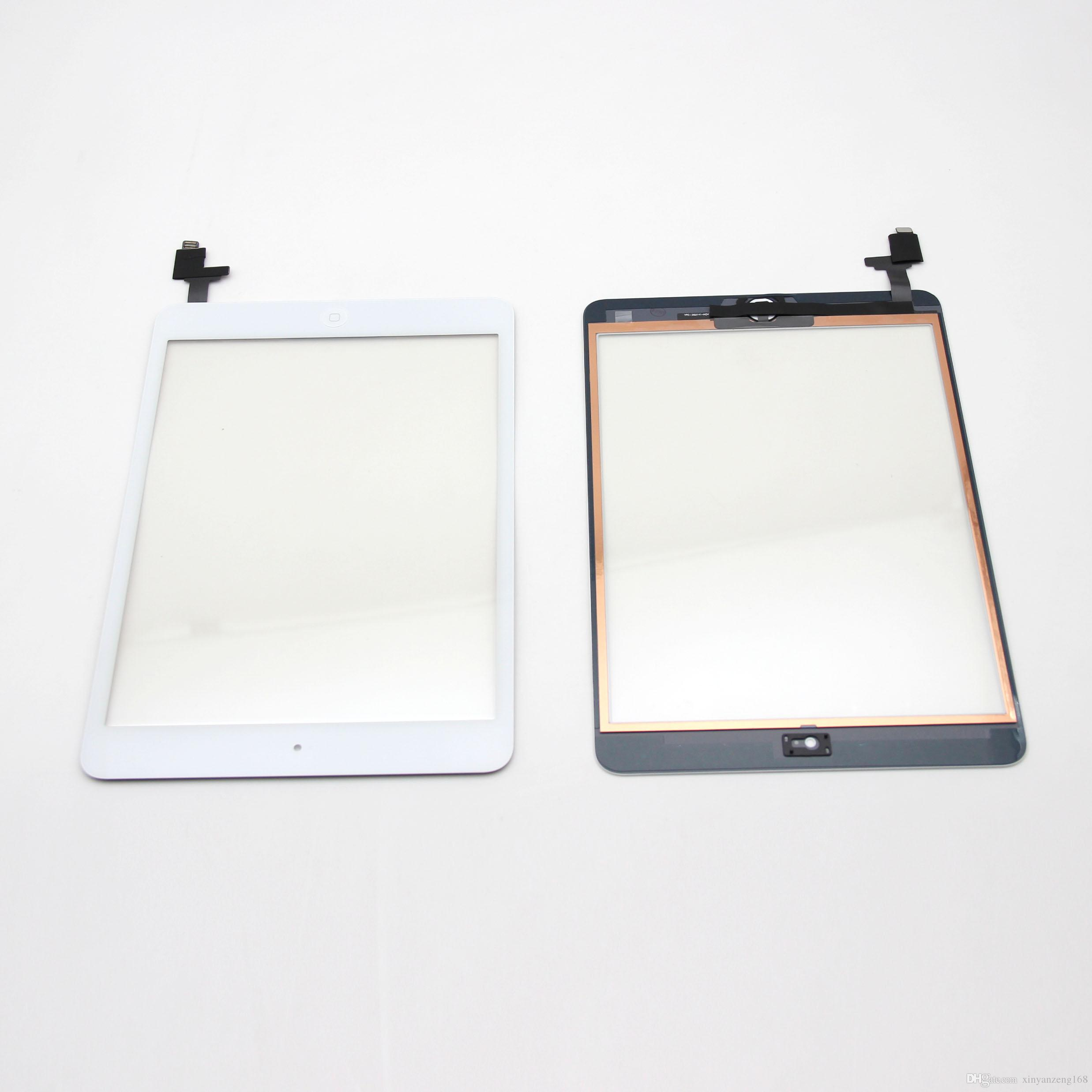 Replacement Touch Screen For iPad mini 2 Touch Digitizer Screens IC Home Button Flex Cable Complete Assembly for ipad mini2