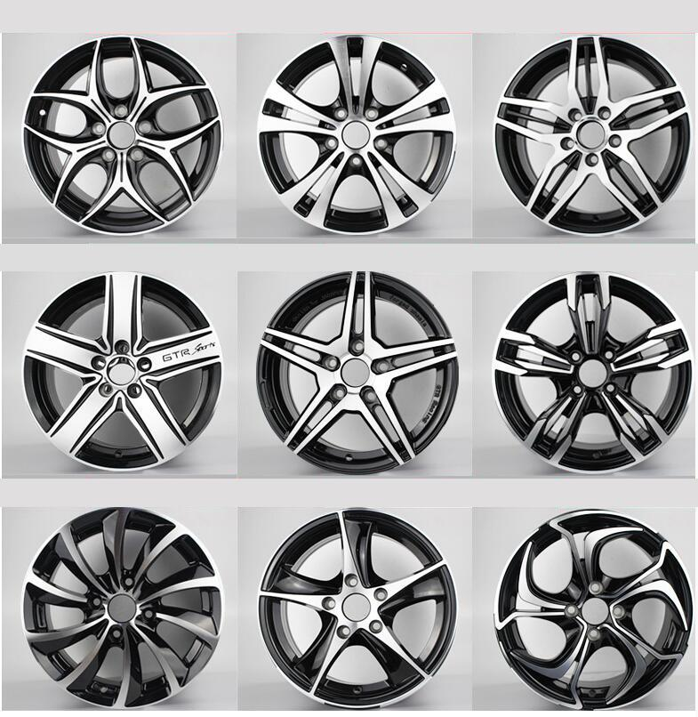Aro de roda de carro de liga de alumínio de 16 polegadas para VW