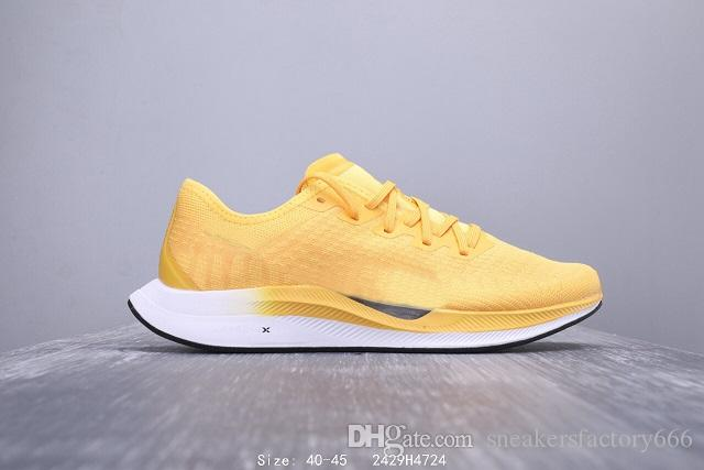 2019 mais quente A 36ª geração de calçados esportivos tecidos WMNS ZOOMX PEGASUS TURBO calçados esportivos casuais masculinos tamanho 40-45