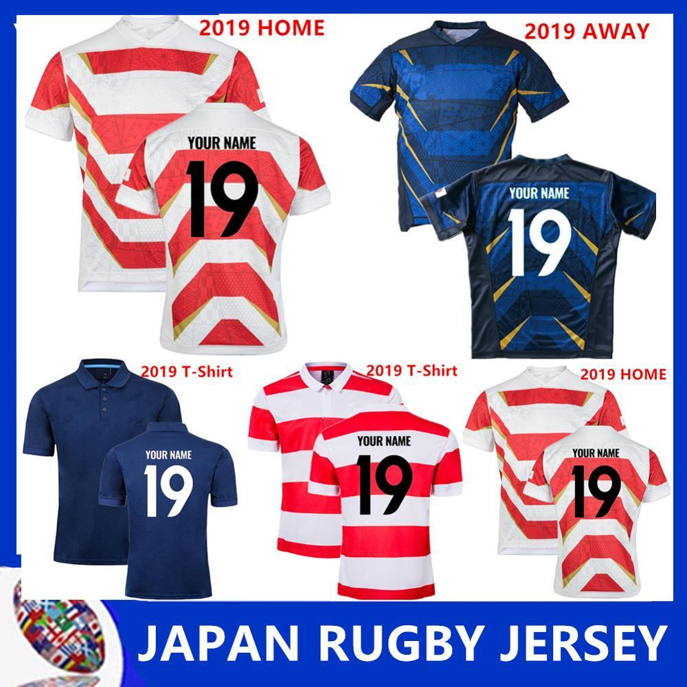 2019 Super Japan Rugby League home rugby Jerseys 19 20 Japan white Football shirt 2020 away blue rugby Jerseys size S-5XL (can print)