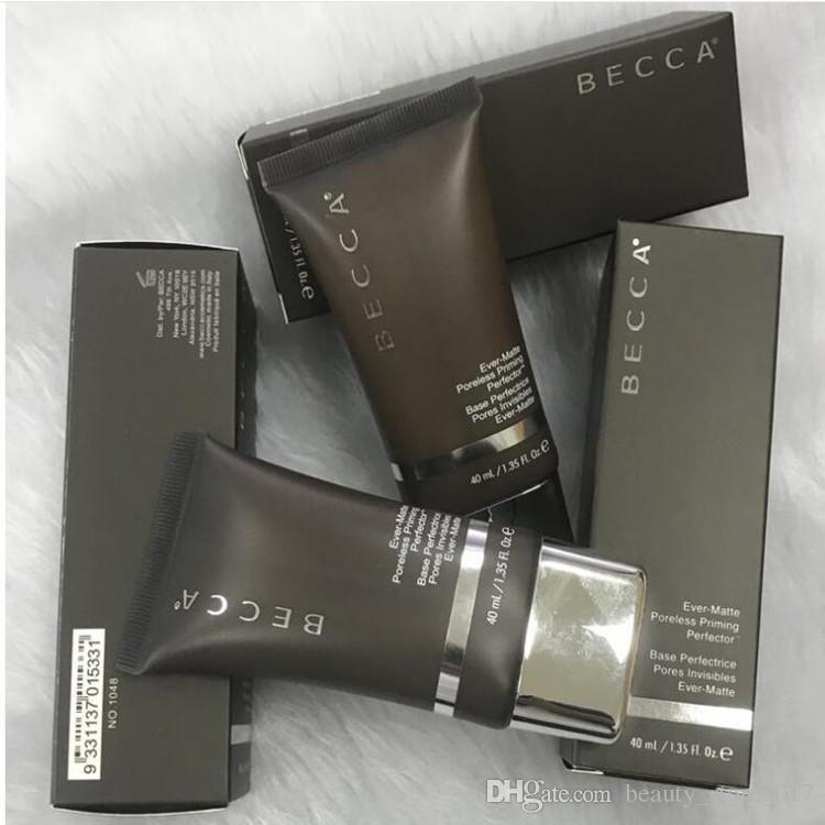 Nova Becca Ever-Matte Poreless Priming Perfector MATTE PELE SHINE PROOF FOUNDATION Maquiagem Face Primer becca fundação primer boa qualidade