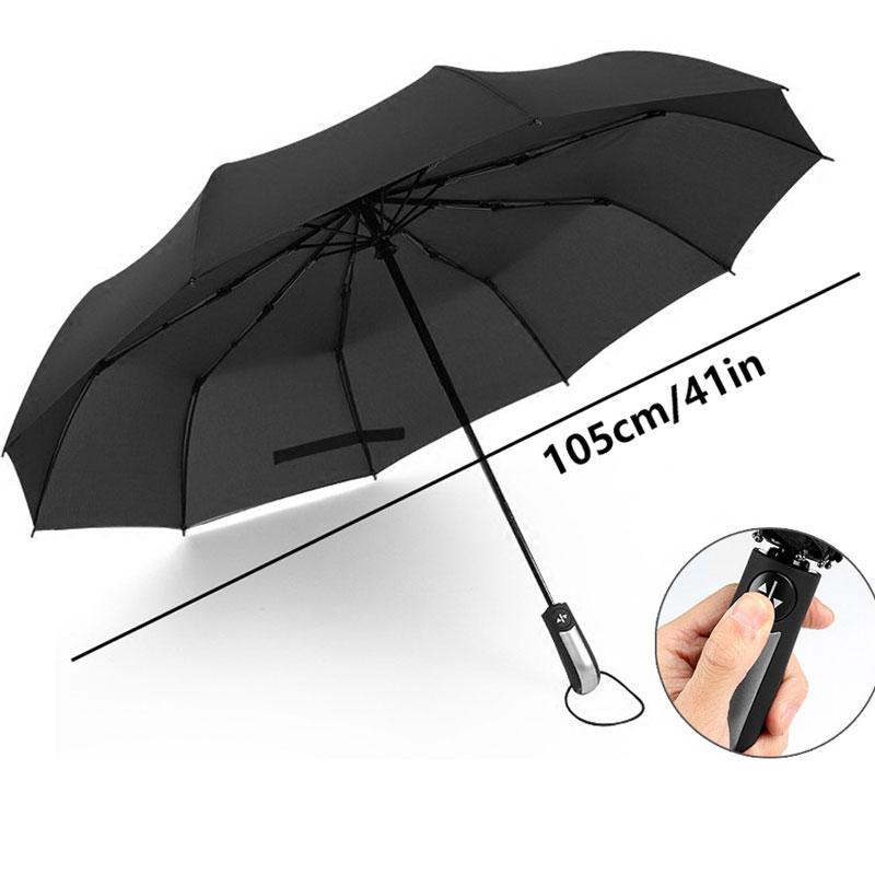 new Umbrellas Wind Resistant Folding Automatic Umbrella men Luxury Big Windproof Umbrella Rain Women Male Umbrella