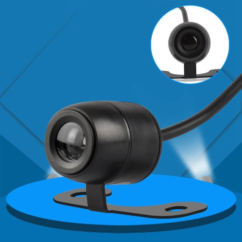 Новая HD камера заднего вида автомобиля широкоугольная обратная парковочная камера водонепроницаемый светодиодный монитор резервного копирования автомобиля универсальный автоматический реверс