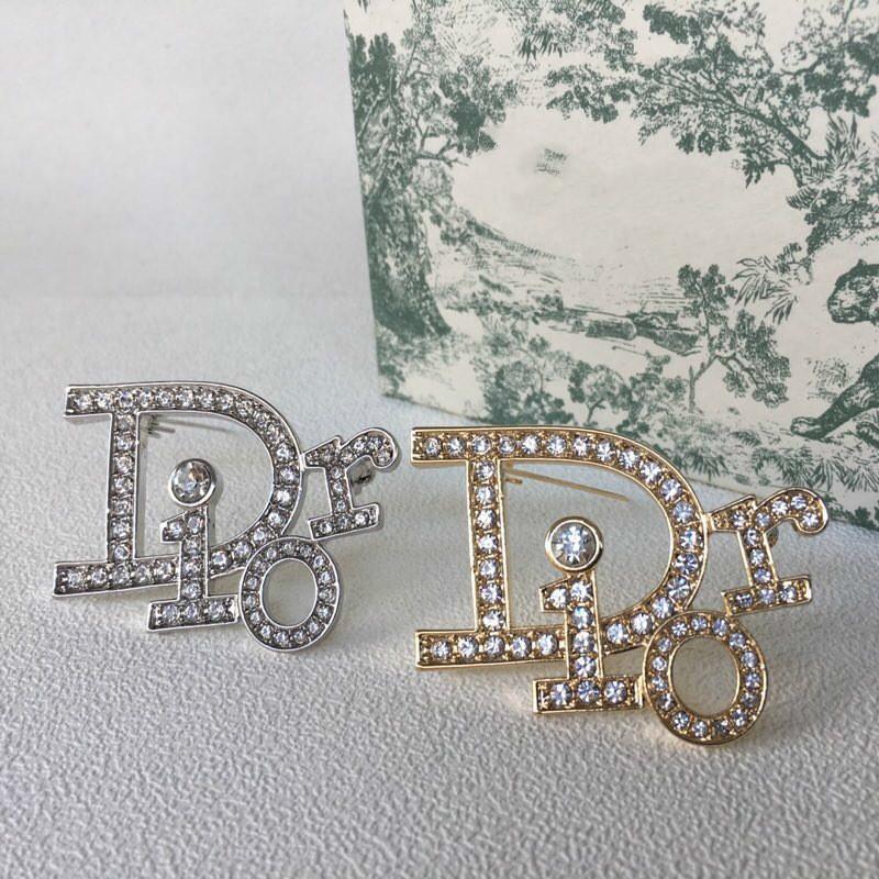 Gioielli d'oro donne placcati in lega di zinco Bella strass cristallo pin Accessori di moda 032.301