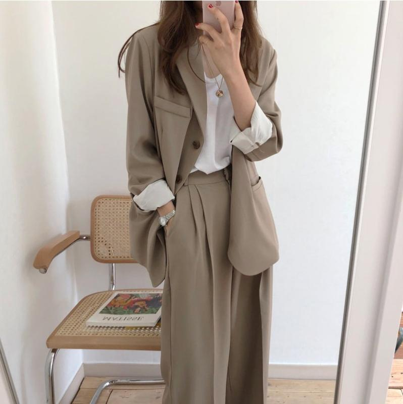 2020 plus size 2020 women suit casual pant suits for women tailleur femme oversized blazer set conbinaison femme ropa formal mujer from wayoff 25 32 dhgate com 2020 plus size 2020 women suit casual pant suits for women tailleur femme oversized blazer set conbinaison femme ropa formal mujer from wayoff 25 32
