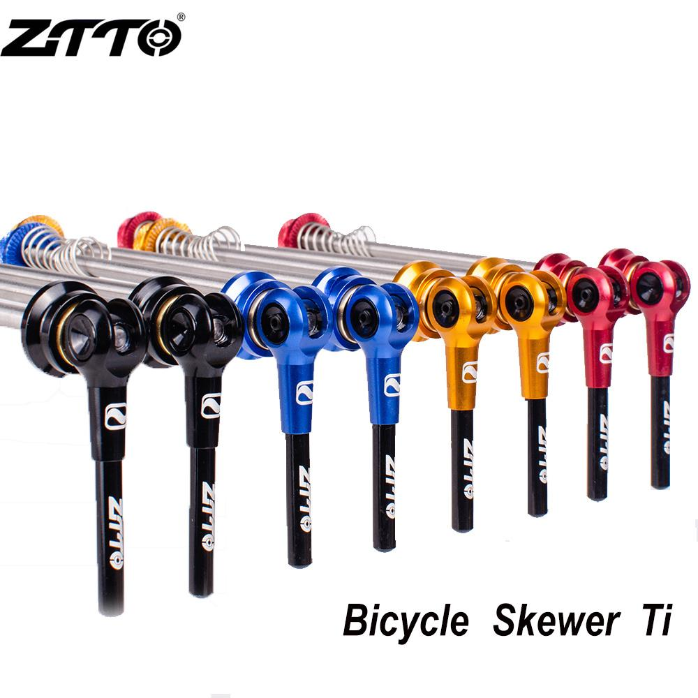 36 Hole Bike Bicycle Wheel Hub Front /& Rear Skewers Quick Release Lever Axle