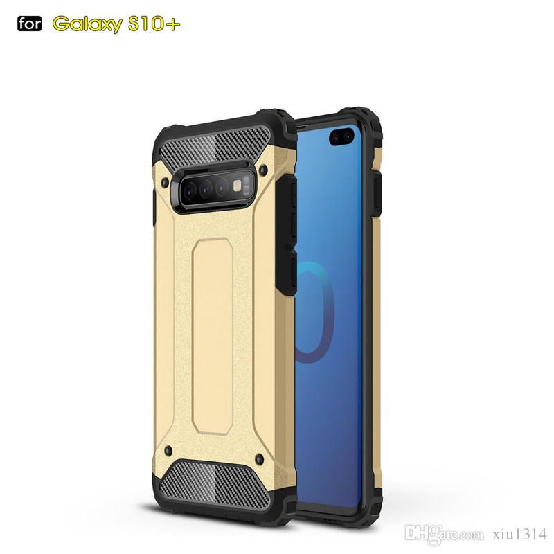 Armor Holder Hard Case For Samsung Galaxy Note 10 Plus 9 8 S10 Plus S9 S8 A10 A10s A20E a20s A30 A30s A40 A50 A50s A70 A80 ShockProof Cover