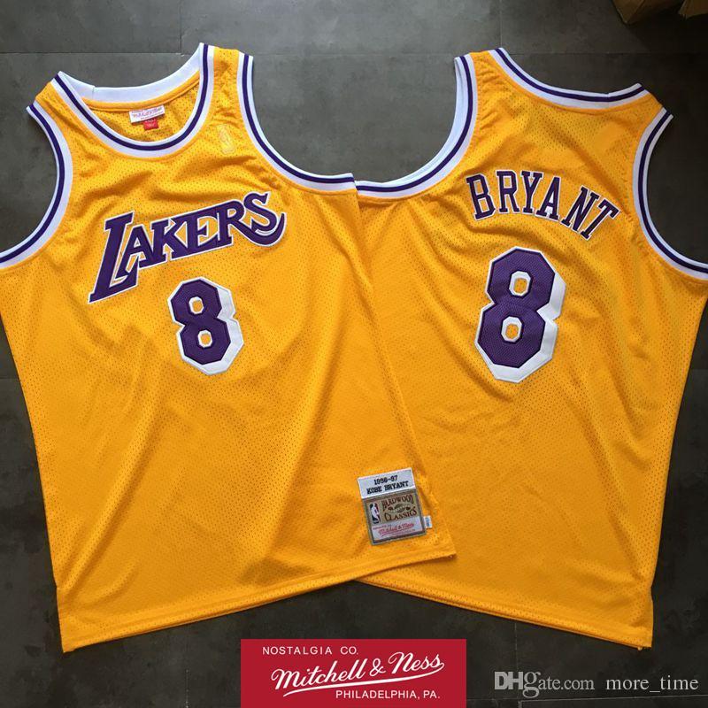 Mens Kobe Bryant 1996 97 Home Swingman Jersey Los Angeles ...