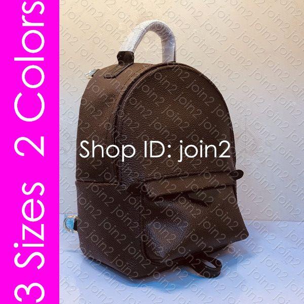M44873 Палм-Спрингс мини PM мм рюкзак дизайнер женские мужские роскошные школьные сумки повседневная путешествия вещевой спорт велоспорт компьютер ноутбук сумка