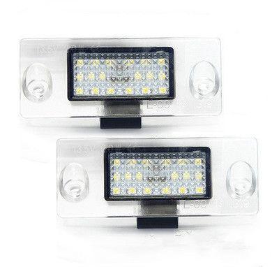 matrícula del coche LED lámparas para Audi A3 / S3, A4 número de matrícula del precio de fábrica llevó la luz 13.5V 6000K OEM #: 8D9943021