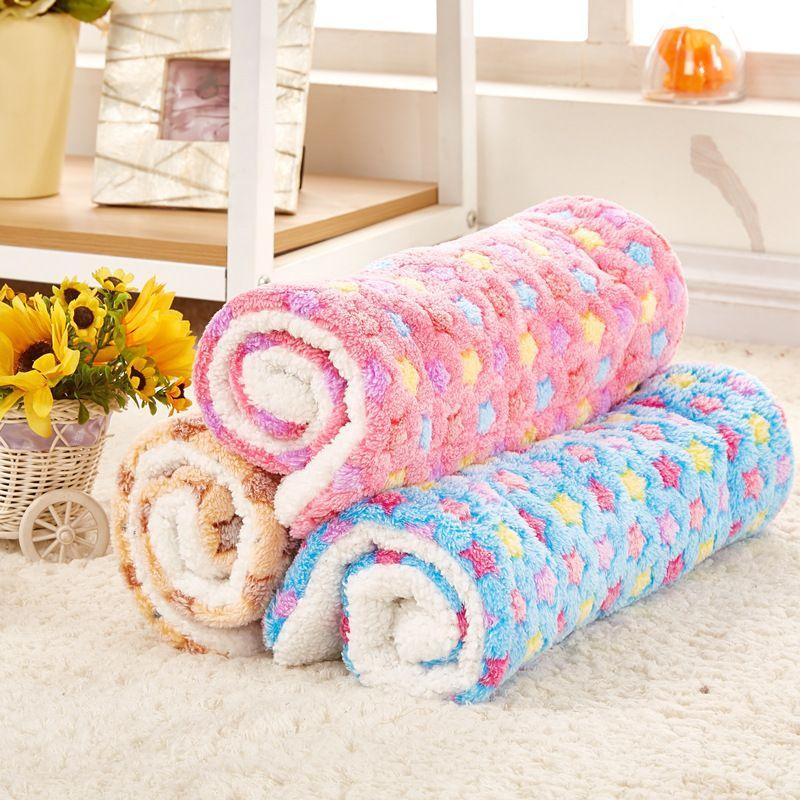 Confortável Durable Blanket Pet Mat Cat cão morno sono camas macias do velo Almofada do hamster Bed Supplies Mat filhote de cachorro Medium Pet